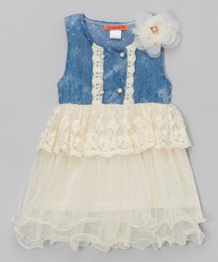 Pink Checkerboard Cap-Sleeve Dress - Toddler & Girls