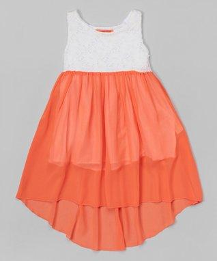 Green Bow Shirred Dress - Toddler & Girls