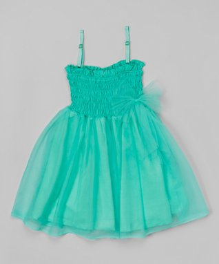 Yellow Floral Yoke Dress - Toddler & Girls