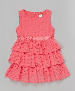Watermelon Ruffle Dress - Toddler & Girls