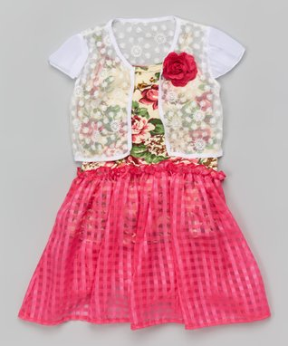 Royal Blue Ruffle Dress - Toddler & Girls