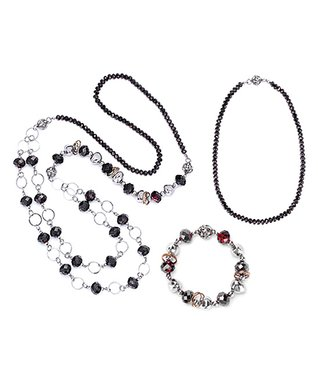 Alexa's Angels Navy Maggies Mix-N-Match Magnetic Necklace Set