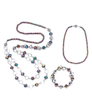 Alexa's Angels Aurora Borealis Maggies Mix-N-Match Magnetic Necklace Set