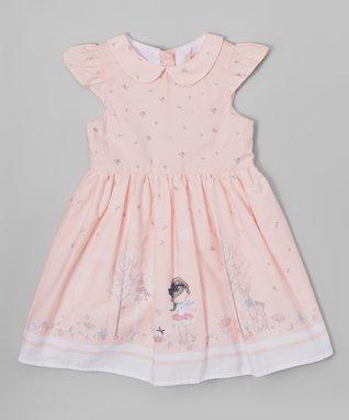 Pink Bicycle Sleeveless Dress - Toddler