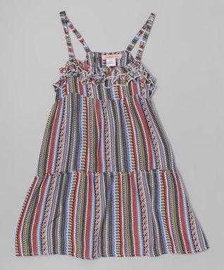 Pink Floral Crochet Dress - Toddler & Girls