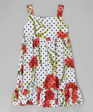 Pink & Denim Belted Dress - Toddler & Girls