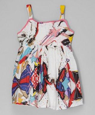 Denim Bow Dress - Toddler & Girls