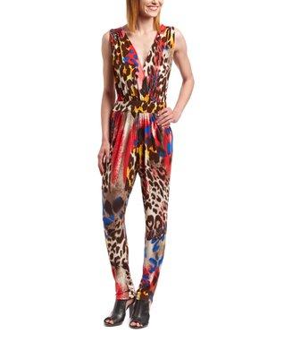 Wall Street Sage Polka Dot Surplice Top & Skirt - Women & Plus