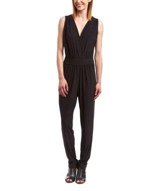 Shelby & Palmer Black & Royal Status Three-Quarter Sleeve Dress