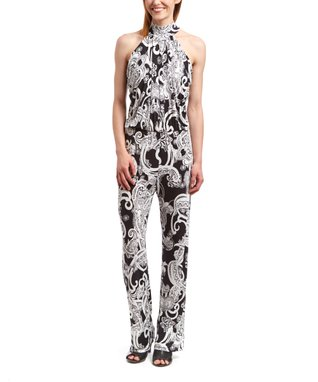 Shelby & Palmer Black & White Snakeskin Sheath Dress