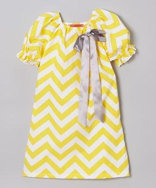 Fuchsia Floral Puff-Sleeve Dress - Toddler & Girls